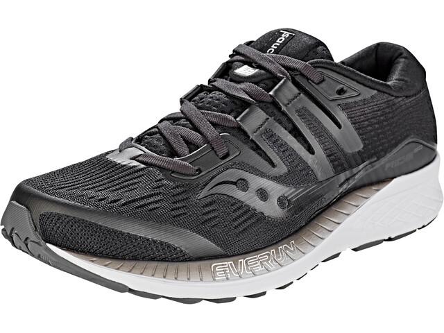 e14821e985d ... Chaussures running sur route  saucony Ride ISO - Chaussures running  Femme - noir. saucony ...